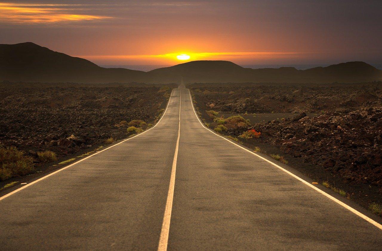 road, highway, travel
